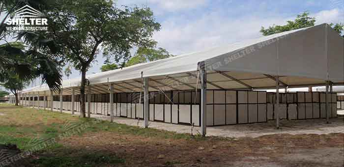 SHELTER Agricultural Structures - Farm Tent - Aluminum Greenhouse -2