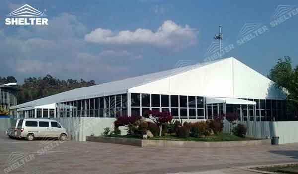 SHELTER exposition tent Event Tent - Commercial Marquees - Reception Hall - Temporary Lounge Tent -88