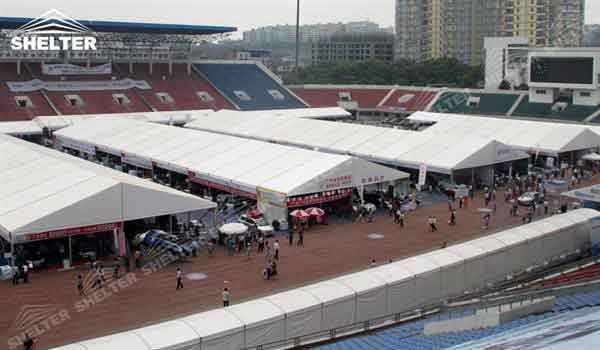 SHELTER Fabric Structures - Event Tent - Commercial Marquees - Reception Hall - Temporary Lounge Tent -62