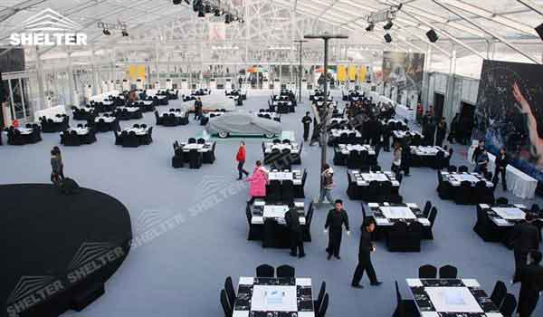 SHELTER Clear Tent - Commercial Event Marquees - Reception Hall - Temporary Lounge Tent -69