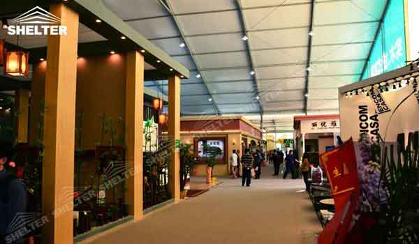 SHELTER Commercial Event Tent - Commercial Marquees - Reception Hall - Temporary Lounge Tent -8