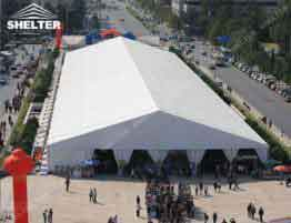 SHELTER Exhibition Tent - Outdoor Fair Hall - Commercial Event Marquees - Brand Promotion Advertising_Jc