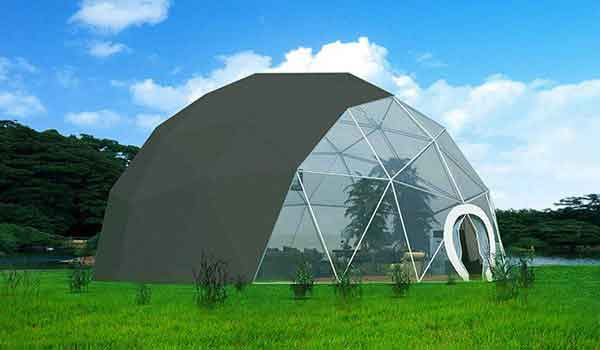 Event Shelter Tent : Geodesic dome tent hemisphere tents for sale