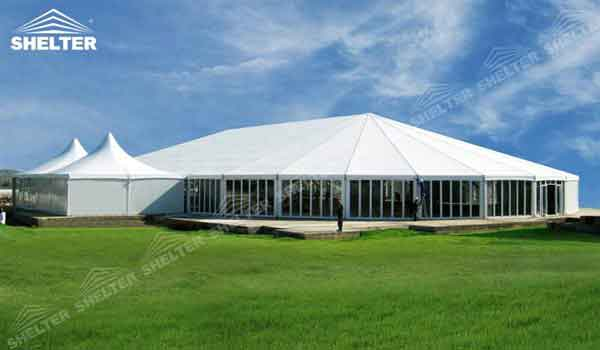 Mixed Party Tents Bellend Marquee