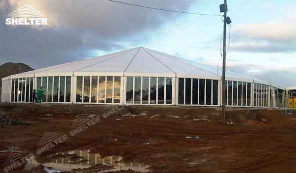 SHELTER Party Tent Oval Structures - Bellend Tent - Music Party Marquee - Luxury Festival Hall -23