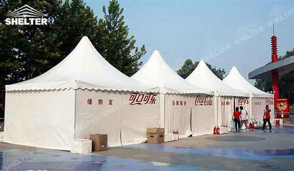 SHELTER Chinese Hat Marquee Pagoda Tent - Top Marquee - Chinese Hat Tents - Pinnacle Marquees -21
