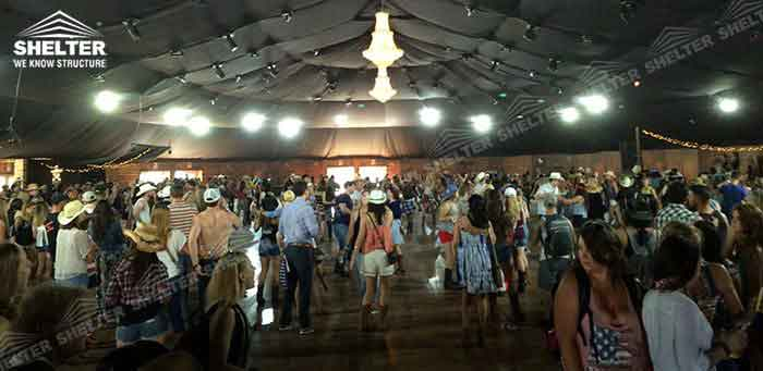 SHELTER Party Tent - Dancing Hall - Wedding Structures - Oval Tents - Yuma Structure