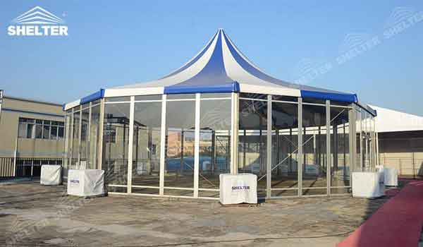 SHELTER Polygonal Tents - Event Marquee - 12 sided polygon Structures - decagon tent -1