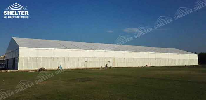 SHELTER Temporary Workshop - 20 _ 30 _ 40 _ 50 _ 60 Meter Warehouse Building for Seasonal Need - Large Storage Structures -1