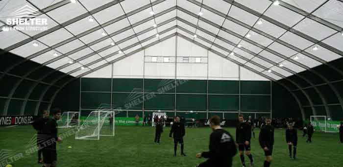 SHELTER Tension Fabric Structures - Sports Tent - Court Cover Canopy - Sporting Marquee -3