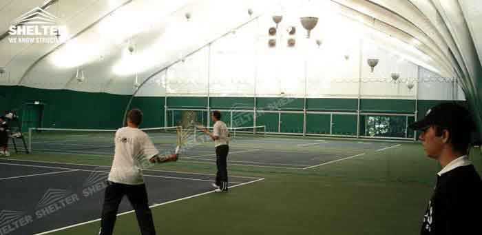 SHELTER Tension Fabric Structures - Sports Tent - Court Cover Canopy - Sporting Marquee -4