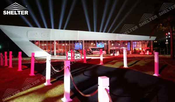 SHELTER Thermo Roof Tent - Inflatable Tents - Commercial Event Marquee - Flat Top Trade Show Marquees for Sale - 2
