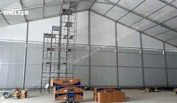 SHELTER storage tents for sale Warehouse Tent - Temporary Storage Building - Fabric Structures for Industrial Use -12