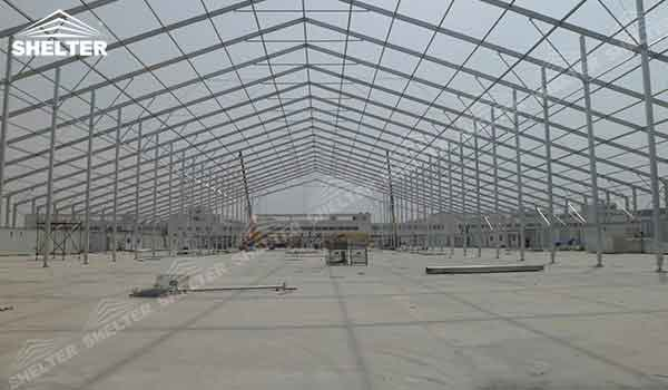 Temporary Warehouse Structures | Storage Tents