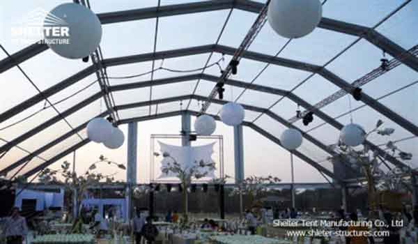 SHELTER Clear Top Tent - Wedding Hall - Party Marquee - Luxury Reception Tent - Outdoor Catering Venue -70