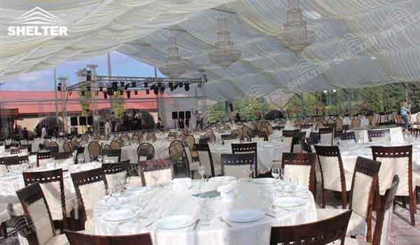 SHELTER clear marquee - Wedding Hall - Party Marquee - Luxury Reception Tent - Outdoor Catering Venue -135