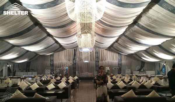 SHELTER Party Tents for Sale - Wedding Hall - Party Marquee - Luxury Reception Tent - Outdoor Catering Venue -163