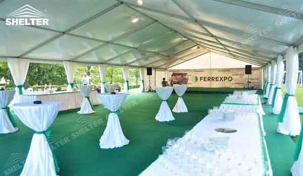 SHELTER wedding reception tent - Wedding Hall - Party Marquee - Luxury Reception Tent - Outdoor & Wedding Reception Tent | Shelter Wedding Marquees