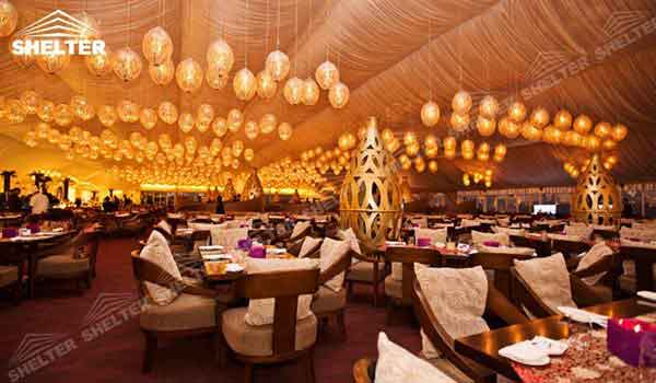 SHELTER Party Tent Wedding Hall - Party Marquee - Luxury Reception Tent - Outdoor Catering Venue -180