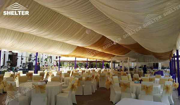 SHELTER 10 x 20 tent - Wedding Hall - Party Marquee - Luxury Reception Tent - & 10 x 20 tent | White Party Tents With Side Walls