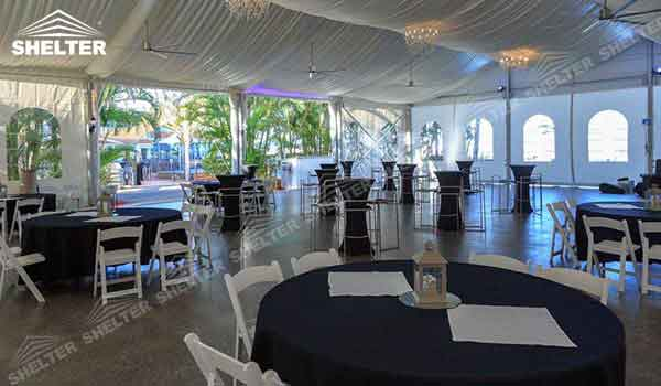 SHELTER wedding tent for sale - Wedding Hall - Party Marquee - Luxury Reception Tent - Outdoor Catering Venue -192