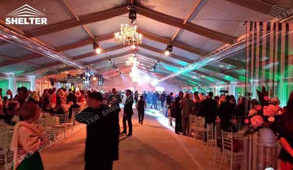 SHELTER Wedding Hall - Party Marquee - Luxury Reception Tent - Outdoor Catering Venue -71