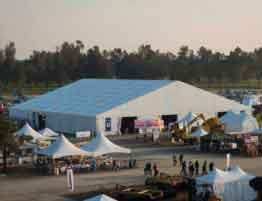 Shelter Event Tent - Temporary Exhibition Hall - Outdoor Expo Venue