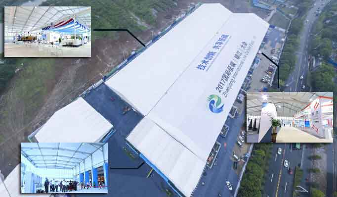 Shelter Trade Show Tent - Multi-purpose Exhibition Hall - Temporary Expo Hall 2