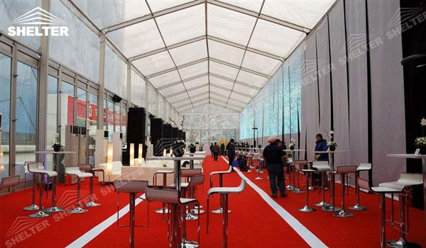 SHELTER Car show tent for sale Event Tent - Commercial Marquee - Luxury Wedding Reception Tent - Outdoor Catering Venue -50