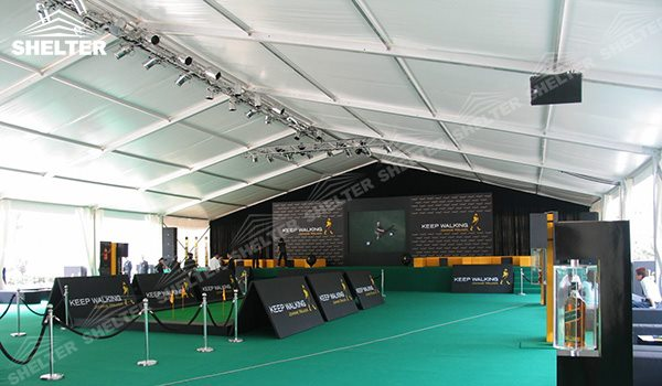 SHELTER 20 x 20 Event Tent - Commercial Marquee - Luxury Wedding Reception Tent - Outdoor Catering Venue -16