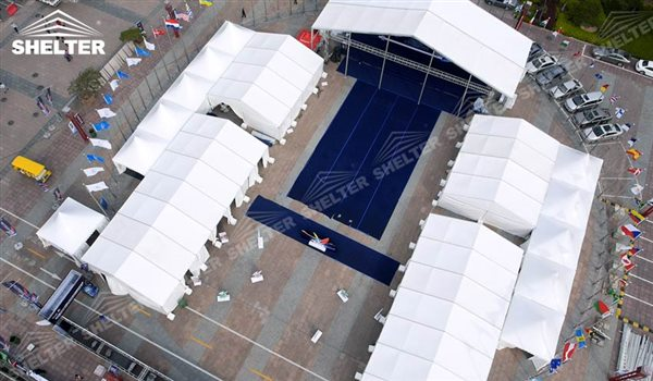 SHELTER Best Large Tents - Event Tent - Commercial Marquees - Reception Hall - Temporary Lounge Tent -44