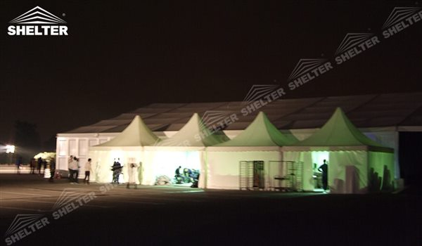 SHELTER Pagoda Tent - Top Marquee - Chinese Hat Tents - Pinnacle Marquees -13
