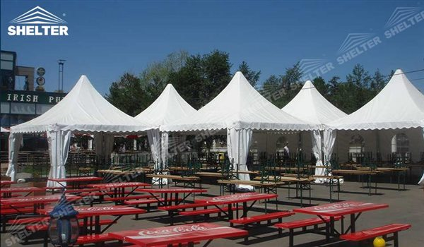 SHELTER Pagoda Tent - Top Marquee - Chinese Hat Tents - Pinnacle Marquees -18 & Pinnacle Marquees | Pagoda Tents | High Peak Canopy Tent