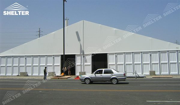 SHELTER Warehouse Tents - Temporary Storage Building - Fabric Structures for Industrial Use -28