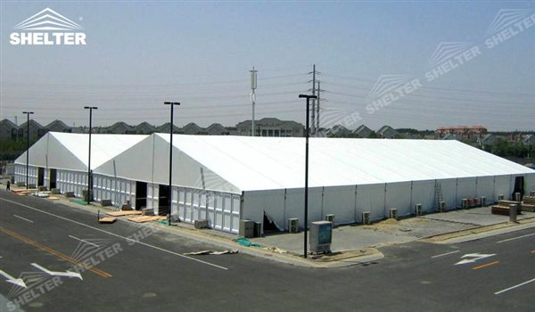 SHELTER Warehouse Tents - Temporary Storage Building - Fabric Structures for Industrial Use -28 & Temporary Warehouse Tents | Shelter Storage Tent