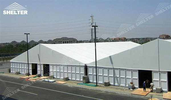 Temporary Buildings Structures : Temporary warehouse tents shelter storage tent