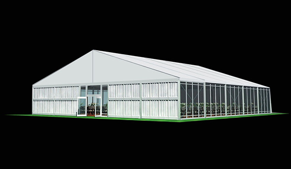 SHELTER Wedding Hall - Luxury Party Tent with Glass Window - Reception Catering Tent - M Series-25x20m