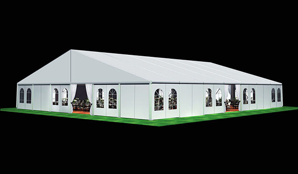 SHELTER Wedding Hall - Luxury Party Tent with Glass Window - Reception Catering Tent - M Series-30x35m