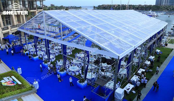 SHELTER Clear Span Marquee - Wedding Hall - Party Marquee - Luxury Reception Tent - Outdoor Catering Venue -118