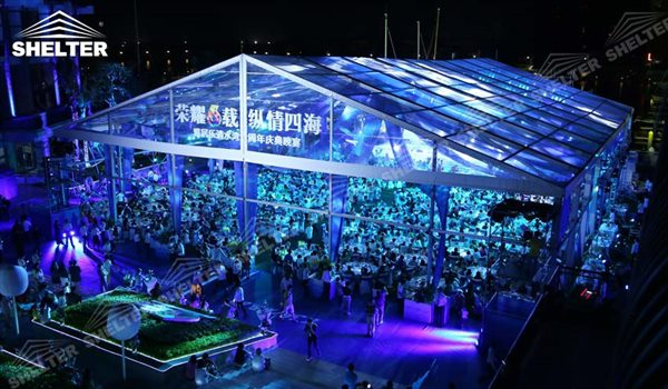 SHELTER Catering Tent - Wedding Hall - Party Marquee - Luxury Reception Tent - Outdoor Catering Venue -118