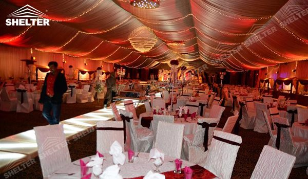 SHELTER Clear Tent Wedding Hall - Party Marquee - Luxury Reception Tent - Outdoor Catering Venue -114