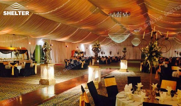 SHELTER outdoor party tents - Wedding Hall - Party Marquee - Luxury Reception Tent - Outdoor Catering Venue -50