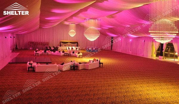 SHELTER Party Gazebo - Wedding Hall - Parties Marquee - Luxury Reception Tent - Outdoor Catering Venue -49