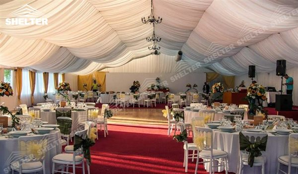 SHELTER wedding tents for sale - Wedding Hall - Party Marquee - Luxury Reception Tent - Outdoor Catering Venue -75