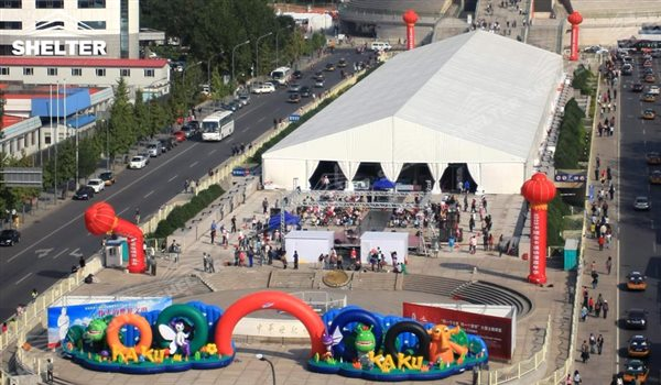 SHELTER Huge Tents Event Tent - Commercial Marquees - Reception Hall - Temporary Lounge Tent -79