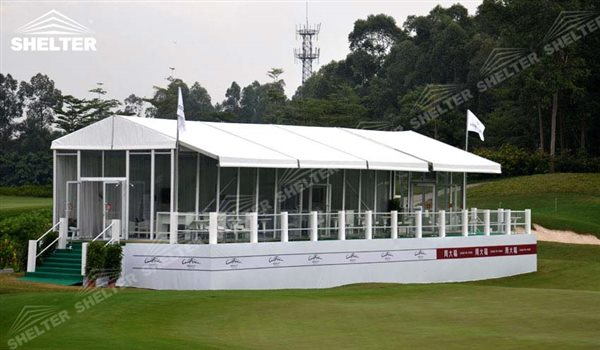 SHELTER Golf Tent Event Tents - Commercial Marquee - Luxury Wedding Reception Tent - Outdoor Catering Venue -20