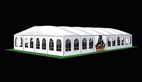 SHELTER Heat Resistance Roof Tent - Commercial Event Marquees - Wedding Hall - Sporting Structures - Temporary Warehouse Building - Thermo Roof-20x30m