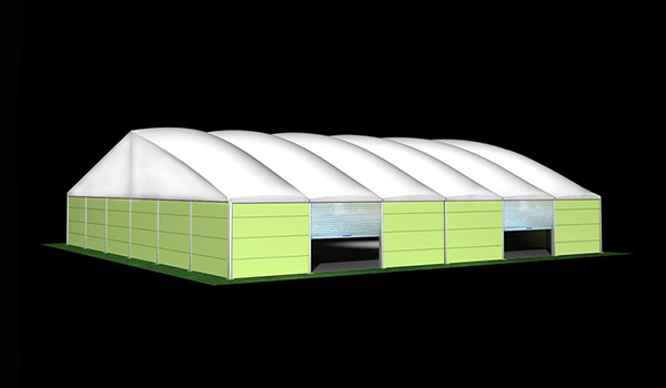 SHELTER Heat Resistance Roof Tent - Commercial Event Marquees - Wedding Hall - Sporting Structures - Temporary Warehouse Building - Thermo Roof-30x30m