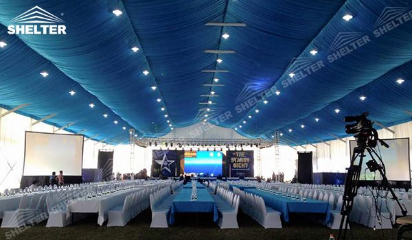 SHELTER used party tent arch tent - arcum tents - large event marquee - wedding marquees for sale - 23