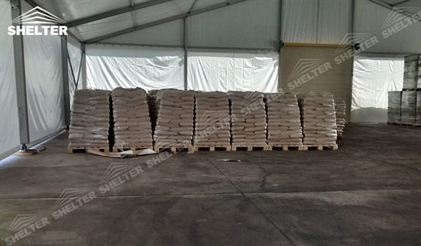 SHELTER Storage Tent - Temporary Warehouse Building - Fabric Structures for Industrial Use -8 & Storage Tent - Temporary Industrial Structures - Shelter Strucutres